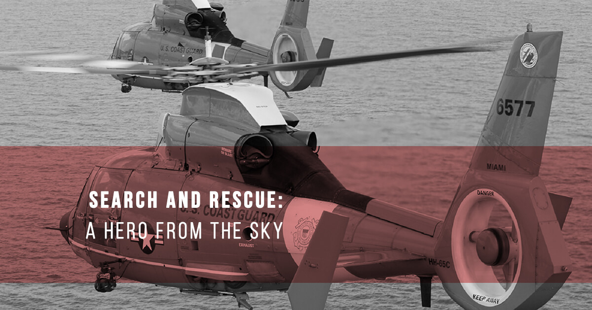 Search and Rescue: A Hero from the Sky