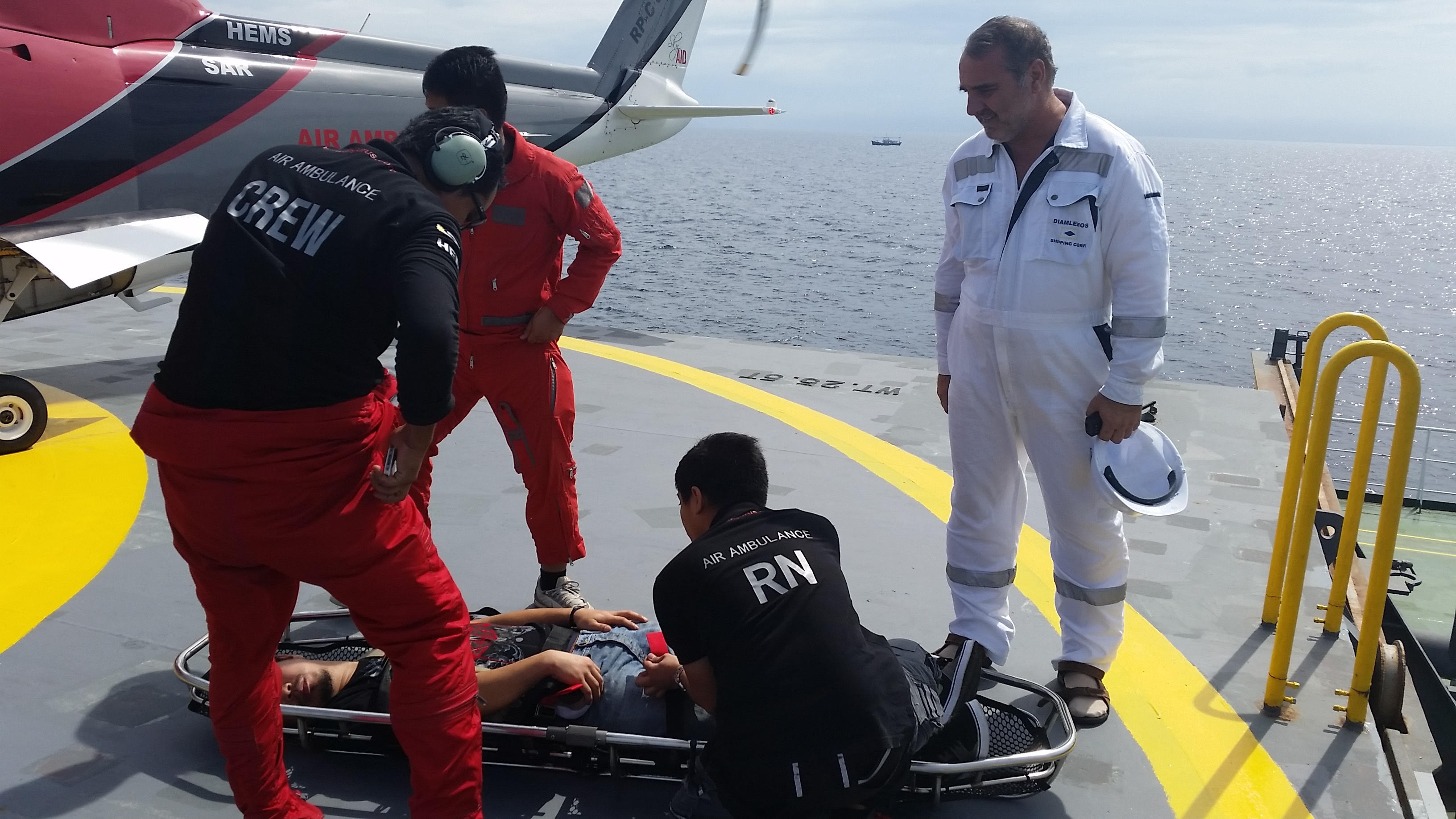 Medevac Extraction: A Life Saved At Sea