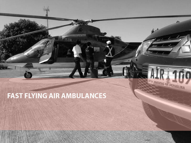 Fast Flying Air Ambulances